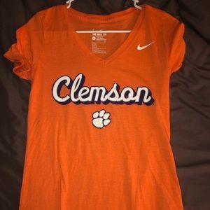 Clemson Nike dryfit